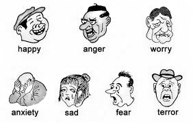 Seven emotions
