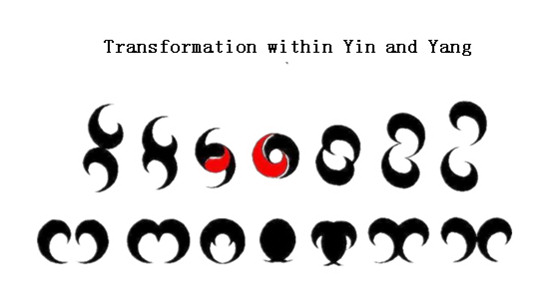 Transformation within yin and yang